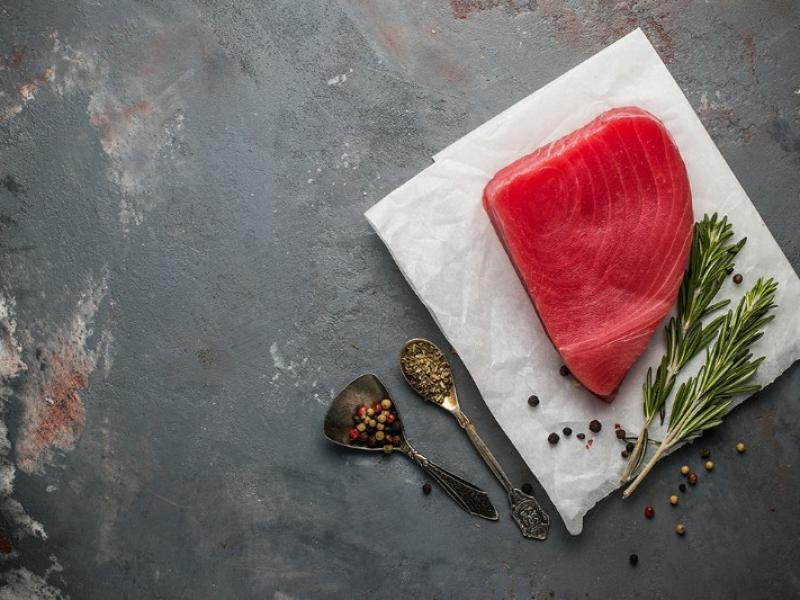 Longe thon rouge du restaurant  O bouchons, Villeneuve d'Ascq